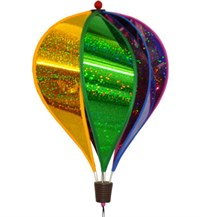 Hot Air Balloon Spinner, Rainbow Sparkle