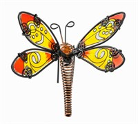 Orange Dragonfly Pot Hanger