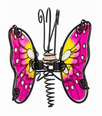 Pink Butterfly Pot Hanger