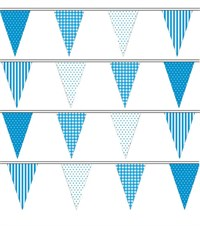Blue Party Bunting- 9 metres