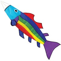 Rainbow Fish Windsock