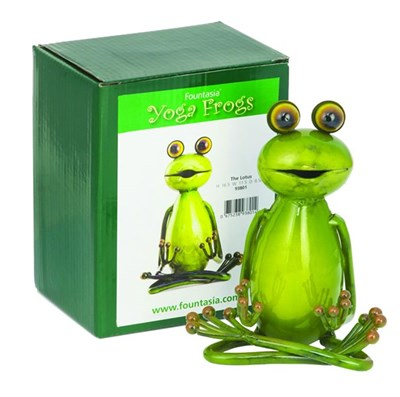 The Lotus Yoga Frog