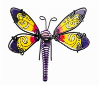 Purple Dragonfly Pot Hanger