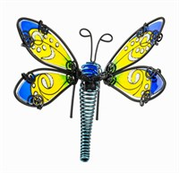 Blue Dragonfly Pot Hanger