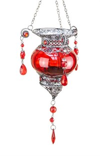 Moroccan Lantern - Red
