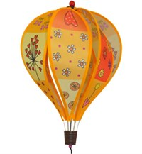 Hot Air Balloon Spinner, Patchwork Yellow