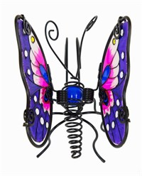 Purple Butterfly Pot Hanger